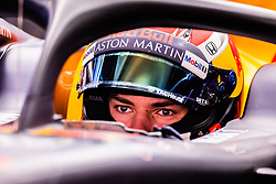 February 26, 2019 - Barcelona, Barcelona, Spain - Pierre Gasly from France with 10 Aston Martin Red Bull Racing - Honda RB15  portrait during the Formula 1 2019 Pre-Season Tests at Circuit de Barcelona - Catalunya in Montmelo, Spain on February 26. (Credit Image: © AFP7 via ZUMA Wire)
