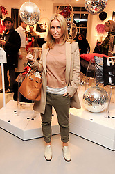 MEG MATTHEWS at the H&M Home Launch held at 174-176 Oxford Street, London W1 on 2nd November 2010.