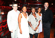 l to r: James Laforce, Tracey Reese, Brea Stinson, Sydney Bolden and Tom Hanely at The Alize Liquer Concrete + Cashmere Career Polishing Pack Luncheon held at The Blue Fin on August 19, 2009 in New York City..Life is more colorful when you mix it up so Alizé is bringing you the hip, edgy reality series Concrete + Cashmere. This show chronicles the lives of 6 adventurous,aspiring fashion professionals as they compete for $10,000 and mentoring from some of the brightest luminaries in the business through our Career Polishing Package...