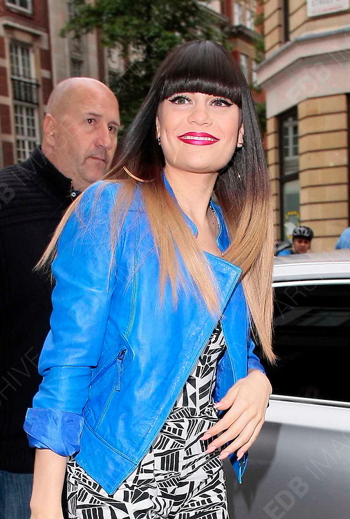 31.MAY.2012. LONDON<br /> <br /> JESSIE J ARRIVING AT THE BBC RADIO 1 STUDIOS IN LONDON<br /> <br /> BYLINE: EDBIMAGEARCHIVE.CO.UK<br /> <br /> *THIS IMAGE IS STRICTLY FOR UK NEWSPAPERS AND MAGAZINES ONLY*<br /> *FOR WORLD WIDE SALES AND WEB USE PLEASE CONTACT EDBIMAGEARCHIVE - 0208 954 5968*