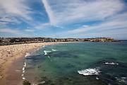 Bondi beach and bay, Sydney, Australia