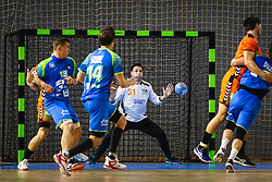 Gerrie Eijlers of Nederland during friendly handball match between Slovenia and Nederland, on October 25, 2019 in Športna dvorana Hardek, Ormož, Slovenia. Photo by Blaž Weindorfer / Sportida