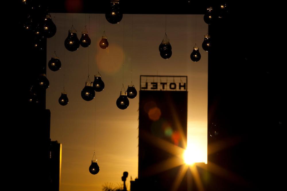 Belo Horizonte_MG, Brasil...Silhueta de um hotel em Belo Horizonte, Minas Gerais...A hotel silhouette in Belo Horizonte, Minas Gerais...Foto: BRUNO MAGALHAES / NITRO