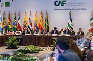 CAF, Asamblea y Firma de convenios.  Panama 15 de Marzo, 2016