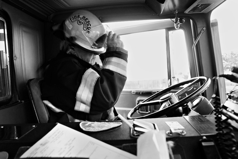 Hank Guckuk, 73, has worked as a Paid on Call firefighter for the Peachland Fire Department for the past 16 years.<br /> &quot;I've always wanted to be a firefighter.&quot;