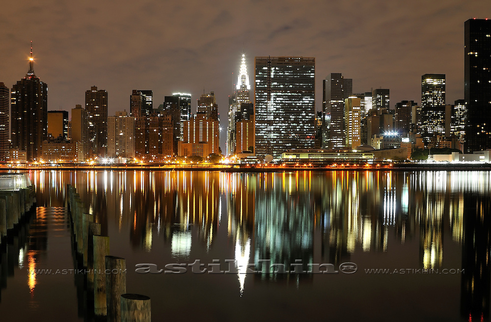 Night on East River