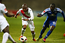 Danny Venter of Free State Stars during the 2016 Premier Soccer League match between Supersport United and The Free Stat Stars held at the King Zwelithini Stadium in Durban, South Africa on the 24th September 2016<br /> <br /> Photo by:   Steve Haag / Real Time Images