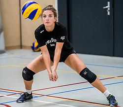 10-09-2018 NED: Training PDK Huizen season 2018-2019, Huizen<br /> Training for the players of Top Division club vv Huizen women season 2018-2019 / Kristy Beyazkaya #1 of PDK Huizen