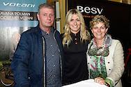 AMSTERDAM - Estavana Polman girlfriend of Rafael van der Vaart  with her parents - Presentation brand campaign BESV Votani and e-bikes. Estavana Polman and Andy Su (CEO BESV). COPYRIGHT ROBIN UTRECHT AMSTERDAM - Estavana Polman met haar ouders  - Presentatie merkcampagne BESV en Votani e-bikes. Estavana Polman en Andy Su (CEO BESV).  COPYRIGHT ROBIN UTRECHT