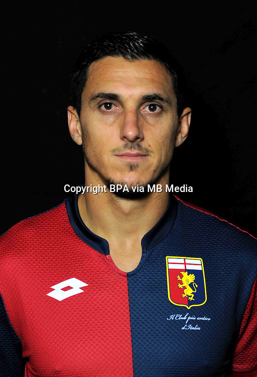 Italian League Serie A -2015-2016 / <br /> ( Genoa  CFC  ) - <br /> Nicolas Andres Burdisso &quot; Nicolas Burdisso &quot;