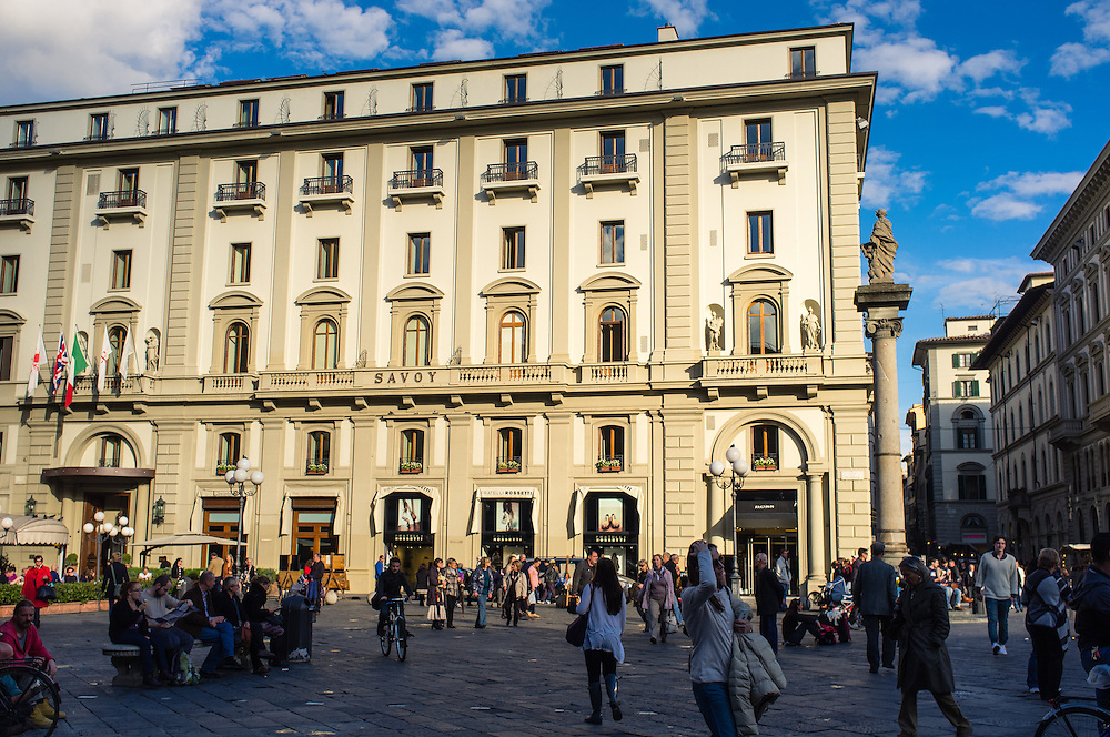 The Savoy hotel in Florence, Italy