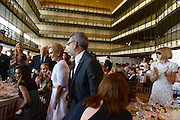 MANHATTAN, NY SEPTEMBER 3, 2014. Fashion designer Carolina Herrera is seen being honored by The Couture Coundil of The Museum at the Fashion Institute of Technology with its 2014 Couture Council Award for Artitstry of Fashion at the David Koch Theater at Lincoln Center in Manhattan, NY. 9/3/2014 Photo by Jennifer S. Altman/For The New York Times