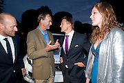 RANULPH FIENNES; JOSH LUCIE, Alexandra Shulman, Editor of Vogue & Phil Popham, Managing Director of Land Rover<br /> host the 40th Anniversary of Range Rover. The Orangery at Kensington Palace. London. 1 July 2010. -DO NOT ARCHIVE-© Copyright Photograph by Dafydd Jones. 248 Clapham Rd. London SW9 0PZ. Tel 0207 820 0771. www.dafjones.com.