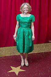 © Licensed to London News Pictures . 16/05/2015 .  The Palace Hotel , Manchester , UK . KELLIE BRIGHT . The red carpet at the 2015 British Soap Awards , The Palace Hotel , Oxford Road , Manchester . Photo credit : Joel Goodman/LNP