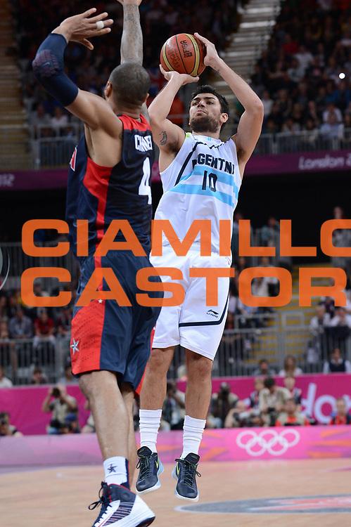 DESCRIZIONE : London Londra Olympic Games Olimpiadi 2012 Men Preliminary Round Argentina Usa<br /> GIOCATORE : Carlos Delfino<br /> CATEGORIA :<br /> SQUADRA : Argentina<br /> EVENTO : Olympic Games Olimpiadi 2012<br /> GARA : Argentina Usa<br /> DATA : 06/08/2012<br /> SPORT : Pallacanestro <br /> AUTORE : Agenzia Ciamillo-Castoria/M.Marchi<br /> Galleria : London Londra Olympic Games Olimpiadi 2012 <br /> Fotonotizia : London Londra Olympic Games Olimpiadi 2012 Men Preliminary Round Argentina Usa<br /> Predefinita :