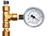 Pounds per square inch pressure gauge PSI...Photo by Jason Doiy
