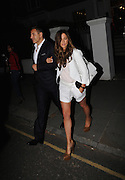 David Walliams Leaves the ITV Summer Party  with new lady attached to his arm ,Chepstow Villas, Notting Hill,London<br /> ©Exclusivepix Media