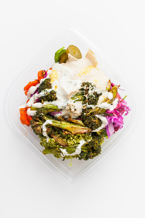 Salad Box from Maoz ($3.46) - MealPal Promo (50% off)