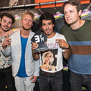 NLD/Amsterdam/20180905- Uitreiking 3FM Awards 2018, Chef Special wint 3FM Award voor beste live act