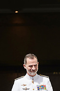 062518 King Felipe VI attends the Closing of the 19th General Staff Course of the Armed Forces