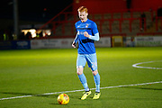 Coventry's defender Ryan Haynes warms up during the EFL Sky Bet League 2 match between Stevenage and Coventry City at the Lamex Stadium, Stevenage, England on 21 November 2017. Photo by Matt Bristow.