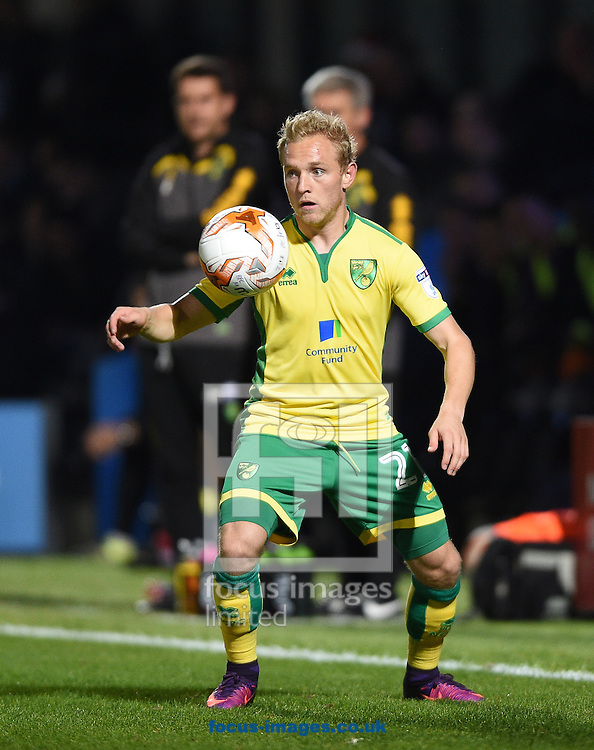 Alex Pritchard of Norwich City U23 during the Checkatrade Trophy match at Underhill Stadium, London<br /> Picture by Daniel Hambury/Focus Images Ltd +44 7813 022858<br /> 04/10/2016