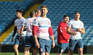Tommy Makinson during the England Rugby League captain's run ahead of the 3rd Autumn International Series Match at Elland Road, Leeds<br /> Picture by Stephen Gaunt/Focus Images Ltd +447904 833202<br /> 10/11/2018