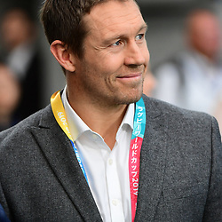 Former England international Jonny WILKINSON during the Rugby World Cup 2019 Quarter Final match between England and Australia on October 19, 2019 in Oita, Japan. (Photo by Dave Winter/Icon Sport) - Jonny WILKINSON - Oita Stadium - Oita (Japon)