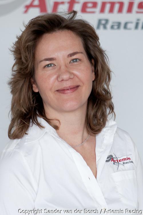 Myriam De Keukeleire © Sander van der Borch / Artemis Racing