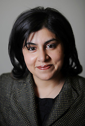 Portrait of Sayeeda Warsi, Baroness Warsi, London, Tuesday January 12, 201, January 12, 2010. Photo By Andrew Parsons / i-Images.