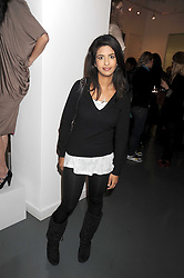 KONNIE HUQ at a party to celebrate the launch of the Bobbi Brown Makeup Manual held at the Getty Images Gallery, 46 Eastcastle Street, London W1 on 29th January 2009.