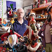 Jim Van Bibber of Austin, Texas has been collecting Goofy memorabilia since the mid-1980s.