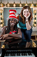 Aisha Sougou is a rising senior at Weaver Academy in Greensboro, NC. She plays Cat In The Hat in the Community Theater of Greensboro production of Suessical Jr.<br /> <br /> Whitney Chilton is the director of the Community Theater of Greensboro production of Suessical Jr.<br /> <br /> Students act in the Community Theater of Greensboro production of Suessical Jr. The show is a part of Stages for Learning, a summer production camp coordinated by Guilford County Schools.<br /> <br /> Photographed, Wednesday, July 12, 2017, in Greensboro, N.C. JERRY WOLFORD and SCOTT MUTHERSBAUGH / Perfecta Visuals