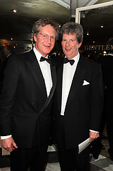 Left to right, brothers BEN SANGSTER and GUY SANGSTER at the 20th annual Cartier Racing Awards - the most prestigious award ceremony within European horseracing, held at The Dorchester Hotel, Park Lane, London on 16th November 2010.