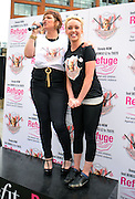 20.JUNE.2012. MANCHESTER<br /> <br /> JORGIE PORTER RUNS THE 2 MILE MANCHESTER LEG OF THE BENEFIT COSMETICS 'MASCARATHON' A CHARITY RUN AIMED TO RAISE AWARENESS AND FUNDS FOR THE NATIONAL DOMESTIC VIOLENCE CHARITY REFUGE.<br /> <br /> BYLINE: EDBIMAGEARCHIVE.CO.UK<br /> <br /> *THIS IMAGE IS STRICTLY FOR UK NEWSPAPERS AND MAGAZINES ONLY*<br /> *FOR WORLD WIDE SALES AND WEB USE PLEASE CONTACT EDBIMAGEARCHIVE - 0208 954 5968*
