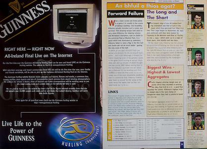 All Ireland Senior Hurling Championship - Final, .12.09.1999, 09.12.1999, 12th September 1999,.12091999AISHCF,.Senior Kilkenny v Cork,.Minor Galway v Tipperary, .Cork 0-13, Kilkenny 0-12,.Guinness,