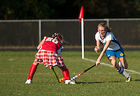 Gilford varsity field hockey versus Laconia October 5, 2012.