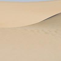 Sand dune at Taweelah, Saudi Arabia.