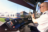 Supertram Driver Phil Bell.