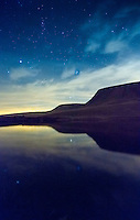 Llyn y Fan Fach<br /> Black Mountain<br /> Brecon Beacons<br /> Carmarthenshire<br /> Dark Skies<br /> South