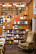 Interior of Square Books, Oxford Mississippi.