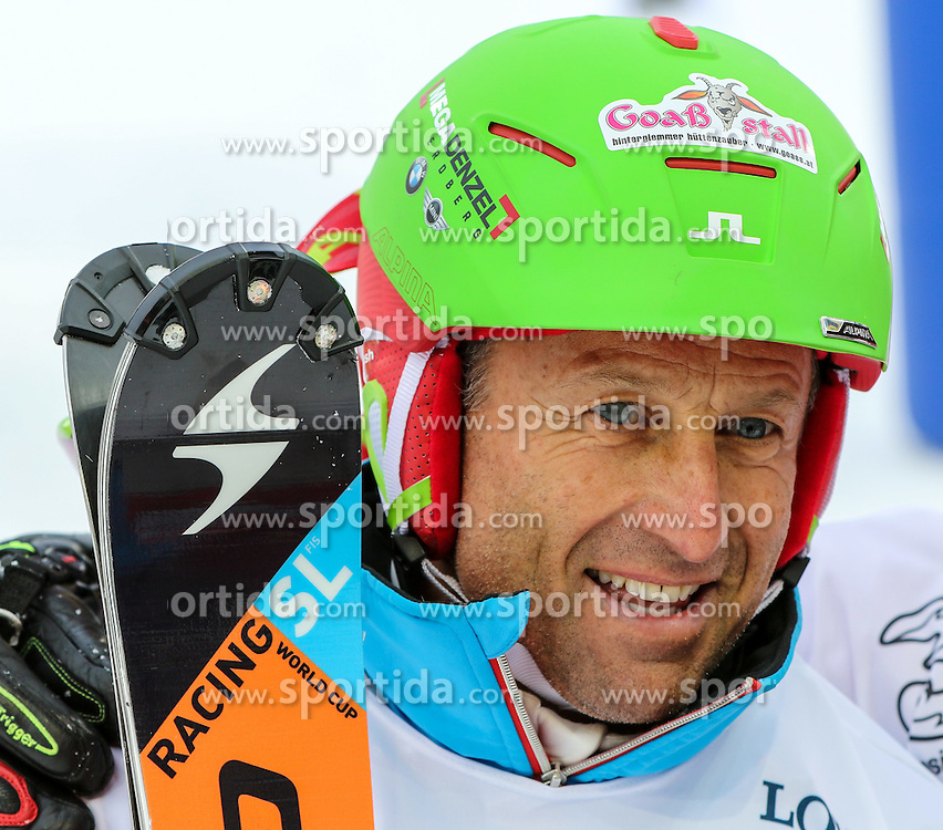 26.01.2015, Planai, Schladming, AUT, FIS Weltcup Ski Alpin, Slalom, Herren, Charity Race SKI FOR GOLD der Oesterreichischen Sporthilfe, im Bild Hans Enn, Sieger des Rennens // at the Charity Race SKI FOR GOLD prior to the Schladming FIS Ski Alpine World Cup 2015 at the Planai course in Schladming, Austria on 2015/01/26. EXPA Pictures © 2015, PhotoCredit: EXPA/ Martin Huber