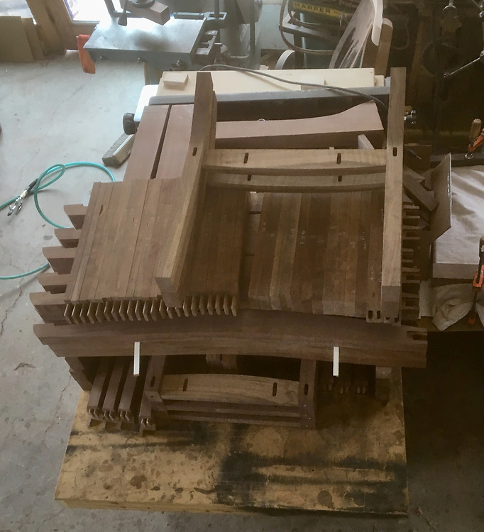 chair making, jigs, patterns, molds