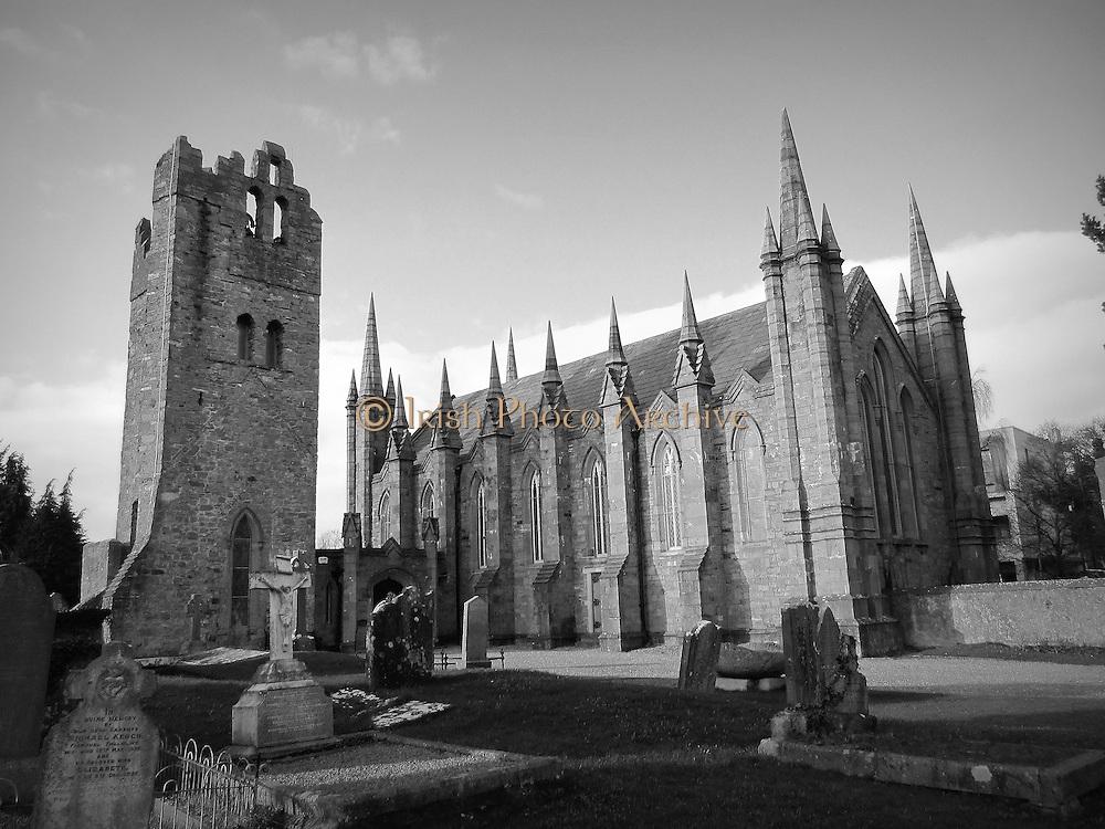 St Maelruanís Church, Tallaght, Dublin, Ireland ñ church 1829, tower c.15th century