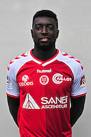Grejohn Kyei - 21.10.2014 - Photo officielle Reims - Ligue 1 2014/2015<br /> Photo : Philippe Le Brech / Icon Sport