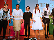 Queen Rania,Victoria Beckham At 6th Social Good Summit