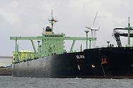 tanker transporting oil