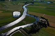 Nederland, Utrecht, Gemeente Amersfoort, 30-06-2011; rivier De Eem. Polder Zeldert.The river Eem near Amersfoort..luchtfoto (toeslag), aerial photo (additional fee required).copyright foto/photo Siebe Swart