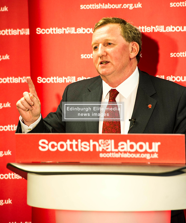 "Pictured: Alex Rowley<br /> <br /> Alex Rowley has decided to resign from the position of deputy leader of the Scottish Labour party.  He will be replaced by  Lesley Laird on an interim basis.<br />  <br /> Richard Leonard said: ""I have spoken to Alex and for the sake of his family he has decided to step down from this important role. He informs me that it is a decision he made some time ago. He is a loyal and experienced member of the Labour Group in the Scottish Parliament and will continue to play a part in rebuilding the Labour Party in Scotland.""<br /> <br /> <br /> Ger Harley 