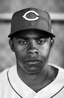 Reds Raisel Iglesias poses for a portrait  on March 2018.<br /> (Photo/Tom DiPace)